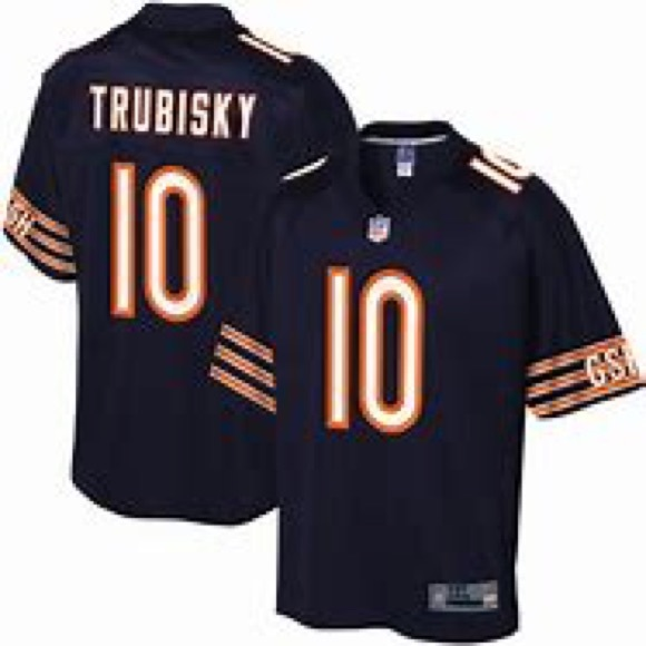 finest selection 9db0e db541 Men's Chicago Bears Mitchell Trubisky Jersey